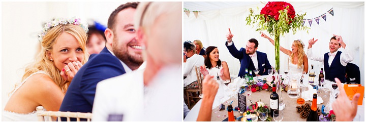Somerset Wedding speeches at Widcombe Grange By Raw Silk Photography