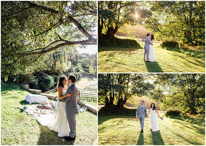 Wedding at Kilminorth Cottages in Looe By Freckle Photography