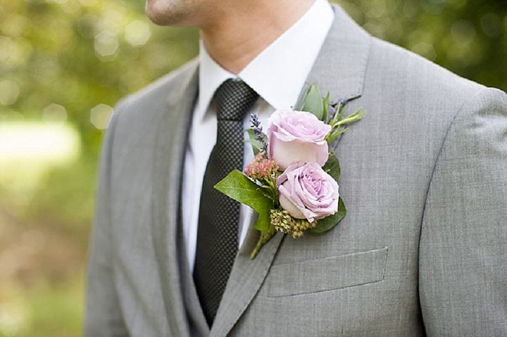 Hertfordshire Wedding buttonholes at Brocket Hall By Fiona Kelly