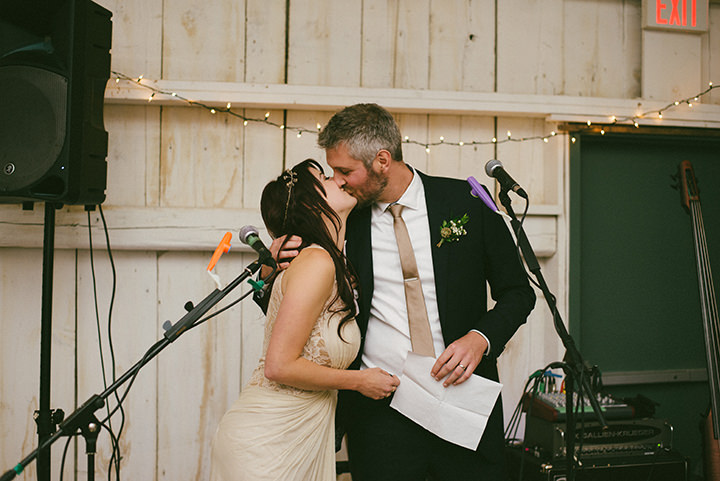 Music Filled Canadian bride and groom Wedding By Megan Ewing Creative