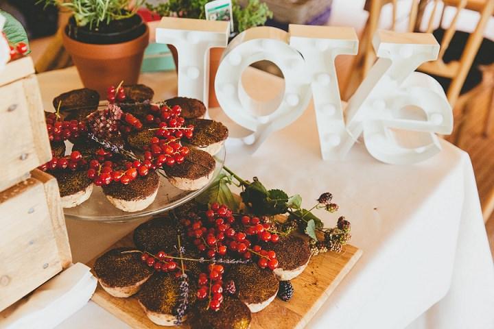 Bohemain Dorset Festival food Wedding By Paul Underhill Photography