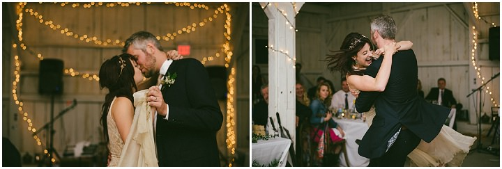 Music Filled Canadian first dance Wedding By Megan Ewing Creative