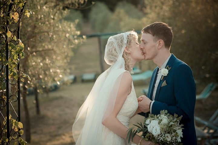 Tuscany Wedding couple By David Bastianoni Photography