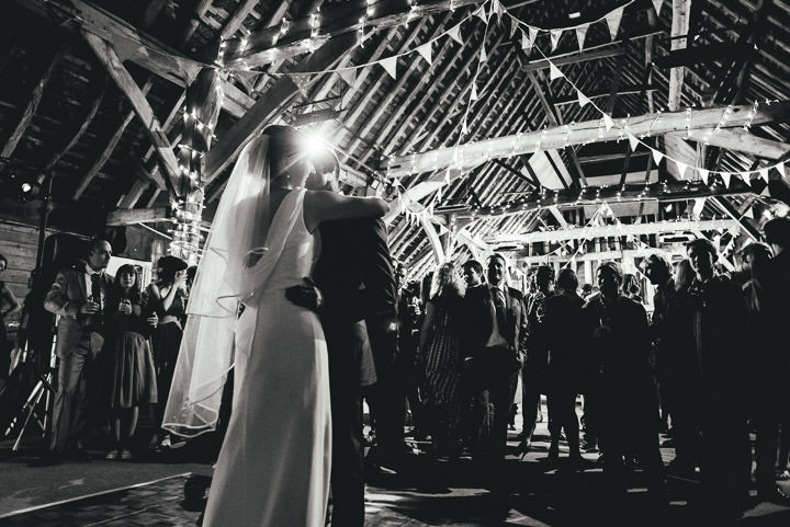 Blackthorpe Barn first dance Wedding By Benjamin Mathers Photography