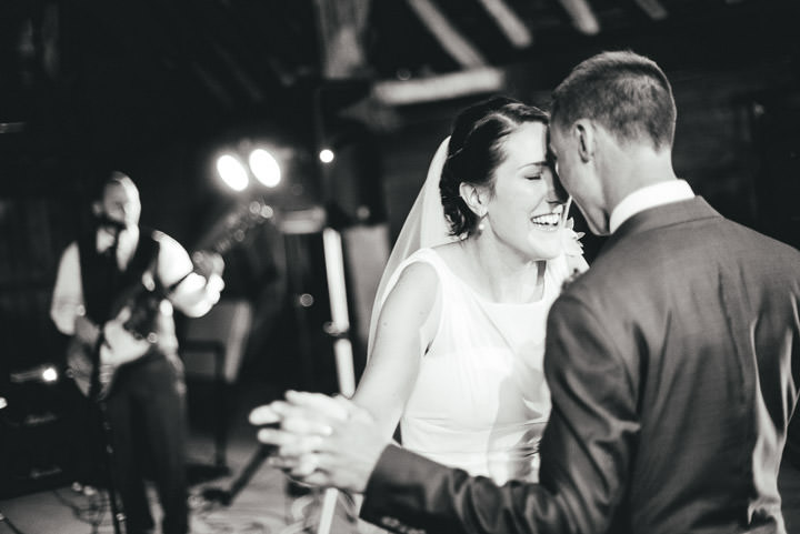 Blackthorpe Barn Wedding bride and groom By Benjamin Mathers Photography