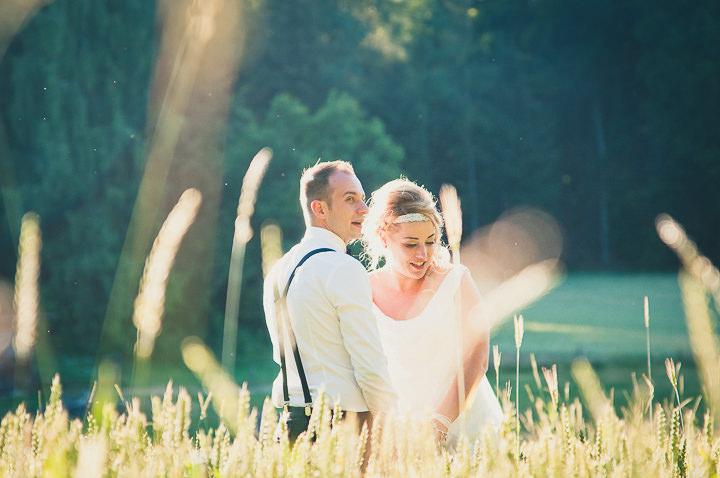 Intimate Woodland Wedding portraits by Tony Romero Photography