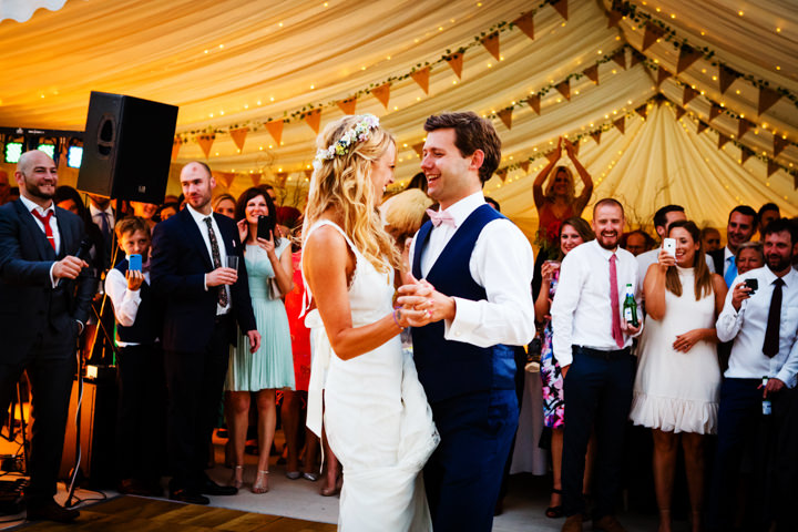 Somerset Wedding first dance at Widcombe Grange By Raw Silk Photography