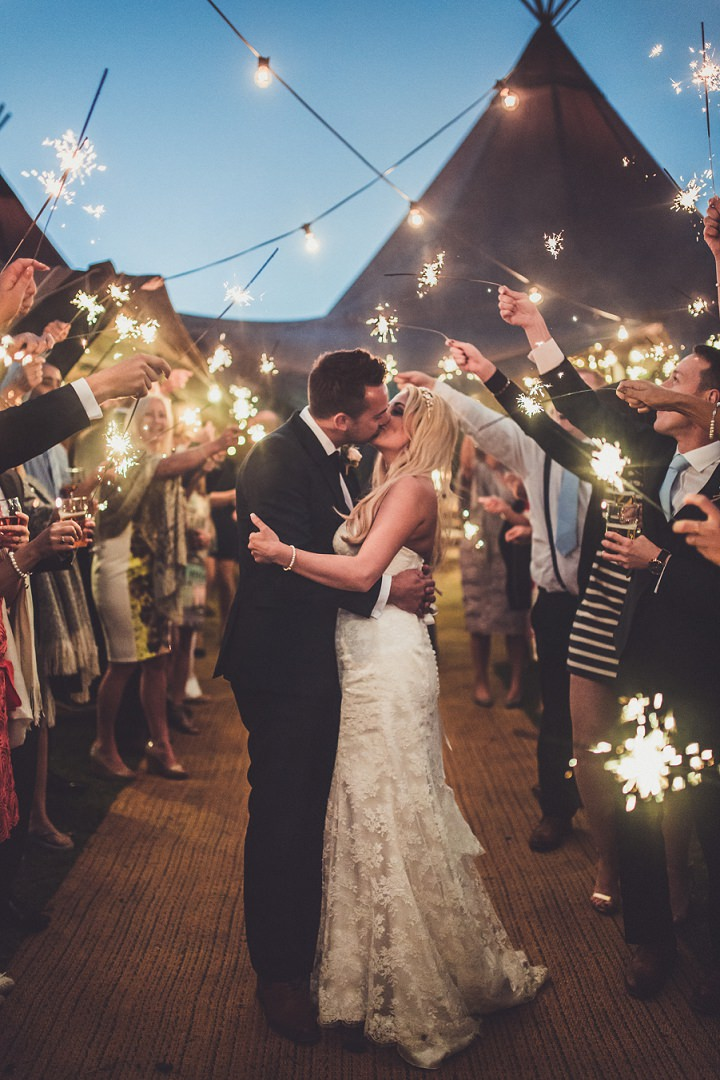 Cheshire Tipi Wedding At Hill Top Farm By Claire Penn Photography