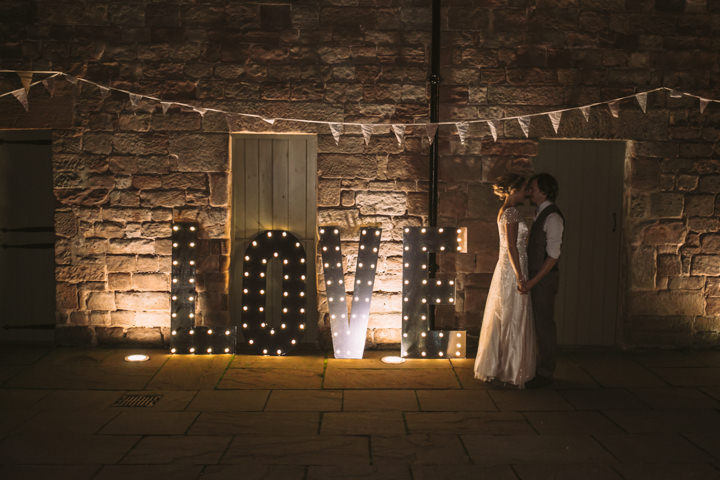 Homespun Ashes Barns Love Letters Wedding By YU Photography