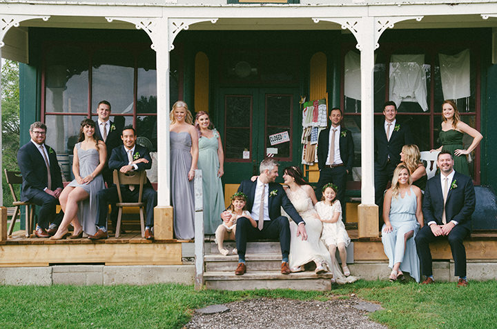 Music Filled Canadian bridal party Wedding By Megan Ewing Creative