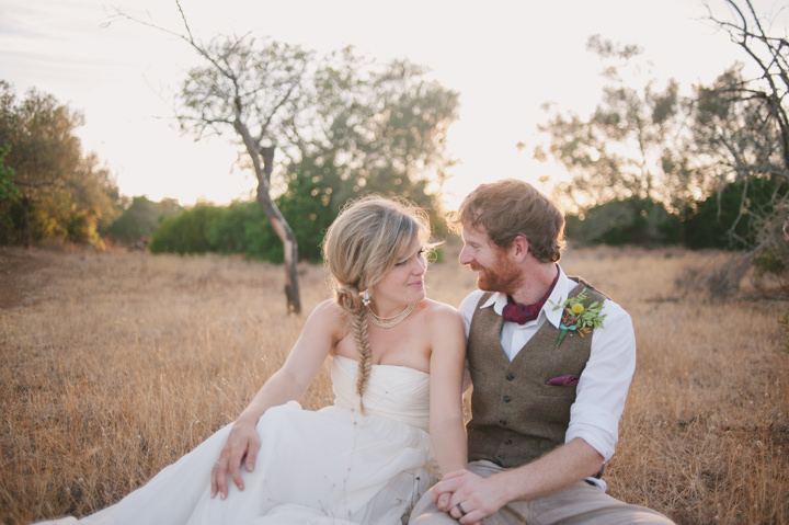 Homespun Algarve Wedding bride and groom By Piteira Photography
