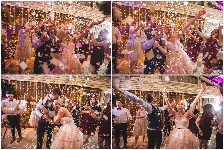 Liz and Nick's Rustic New Years Eve Farm Wedding