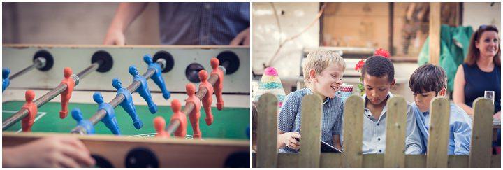 Homespun Wedding childrens games at Frithsden Vineyard