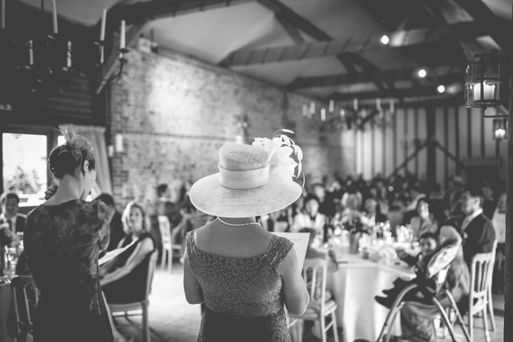 Upwaltham Barns speeches Wedding in West Sussex By Story and Colour