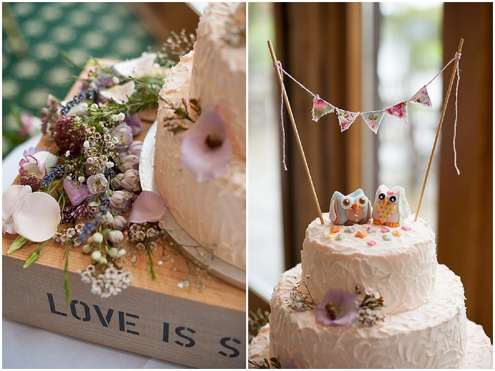 Hertfordshire Wedding cake at Brocket Hall By Fiona Kelly