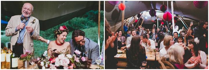 Bohemain Dorset Festival speeches Wedding By Paul Underhill Photography
