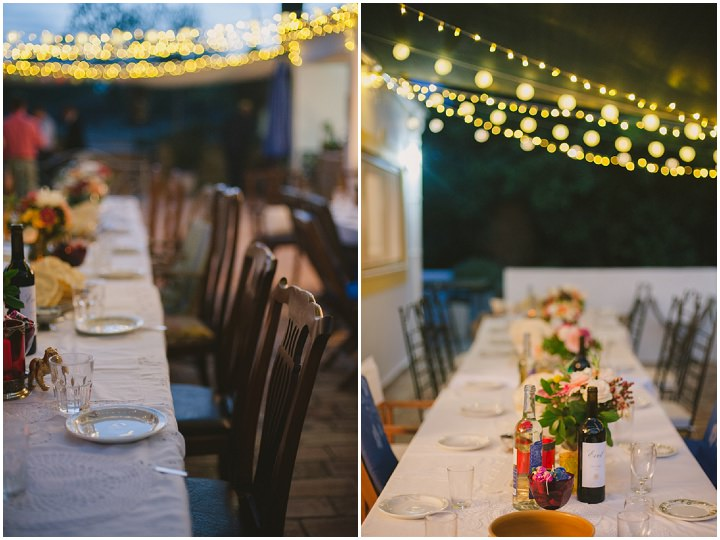 Homespun Algarve table setiing Wedding By Piteira Photography