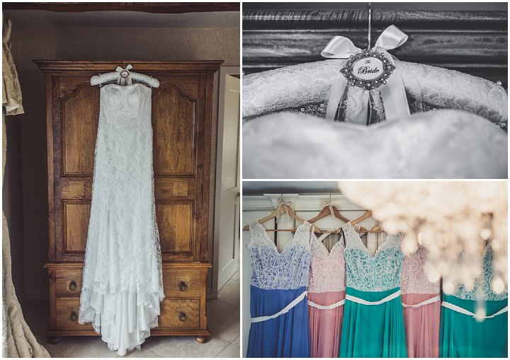 Hill Top Farm bridesmaid dresses By Claire Penn Photography