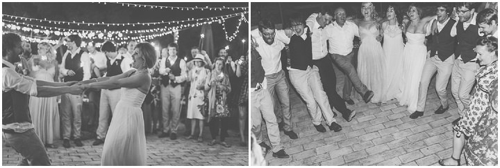 Homespun Algarve Wedding dancing By Piteira Photography