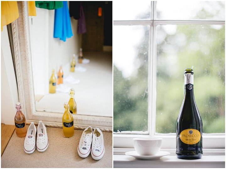 Blackthorpe Barn prosecco Wedding By Benjamin Mathers Photography