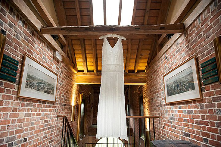 Hertfordshire Wedding Charlie Brear Dress at Brocket Hall By Fiona Kelly