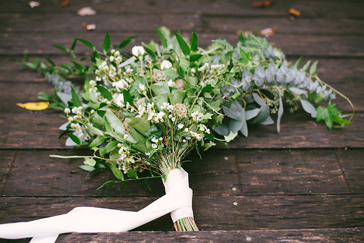 Music Filled Canadian Wedding bouquet By Megan Ewing Creative