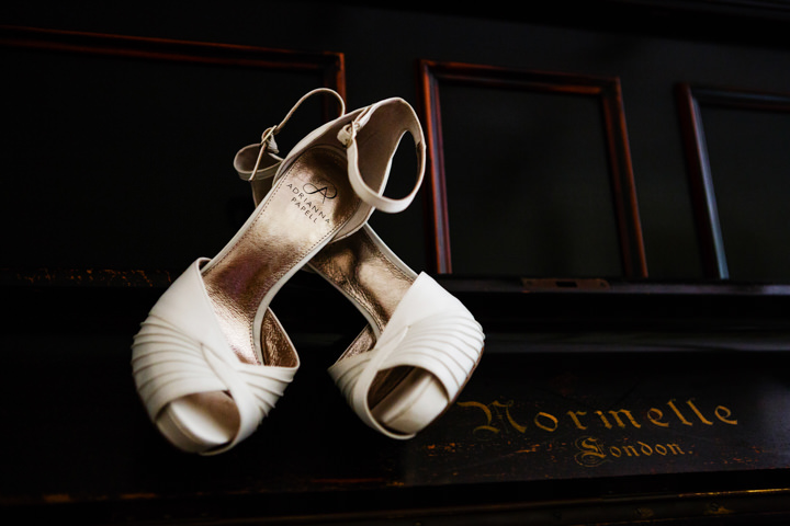 Somerset Wedding shoes at Widcombe Grange By Raw Silk Photography