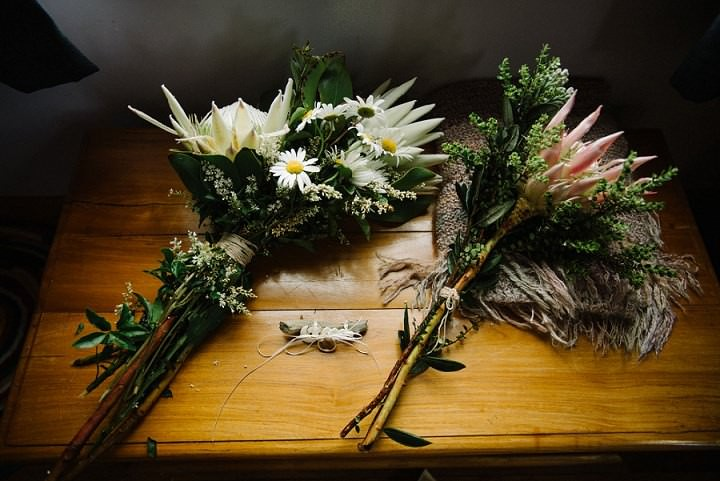 Bohemain New Zealand Beach bouquets Wedding By Vignoto Photo