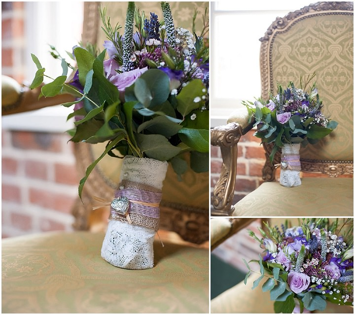 Hertfordshire Wedding bouquet at Brocket Hall By Fiona Kelly