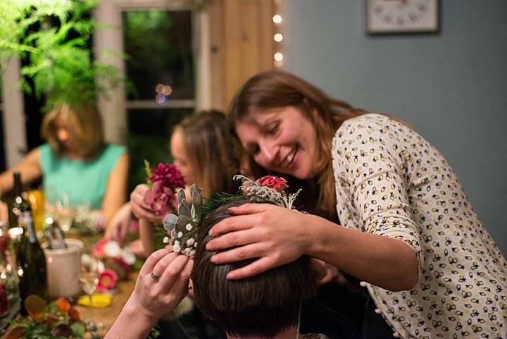 Boho Loves: Orchis Floral Design, Flower Crown Bar - Alternative Hen Party Ideas