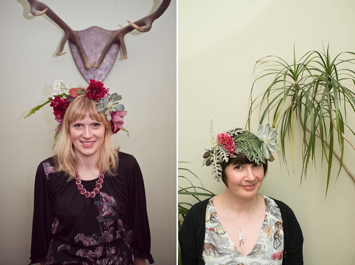 Boho Loves: Orchis Floral Design, Flower Crown Bar - Alternative Hen Party Ideas