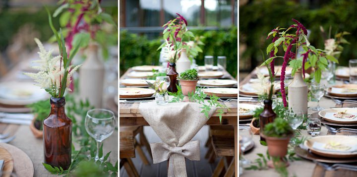 Eco Ballerina Inspired Wedding Inspiration
