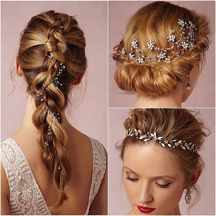 Wedding Hairstyles With Hair Jewelry: Bridal Style: New Wedding Hair Trends For 2016