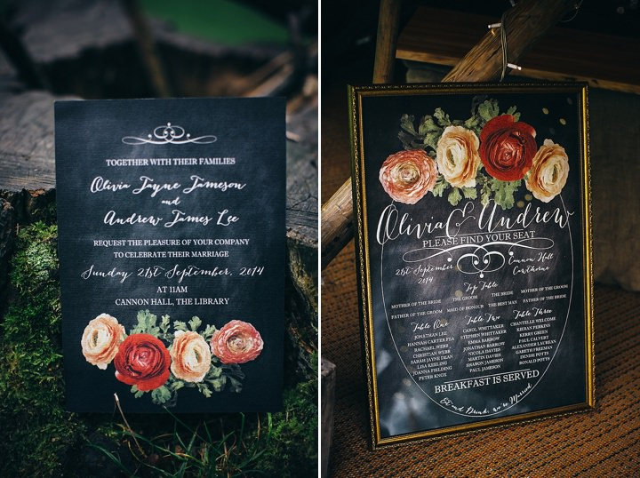 English Country Garden stationery Wedding Inspiration