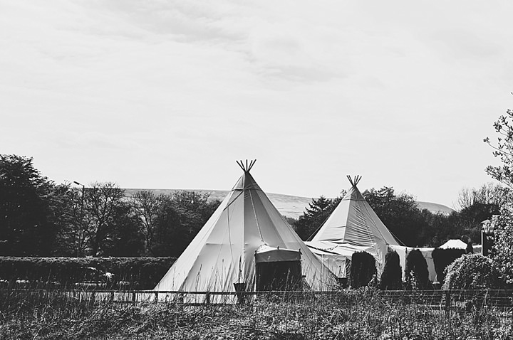 Boho Loves: Timber and Canvas - Show-Stopping Wedding Tipis