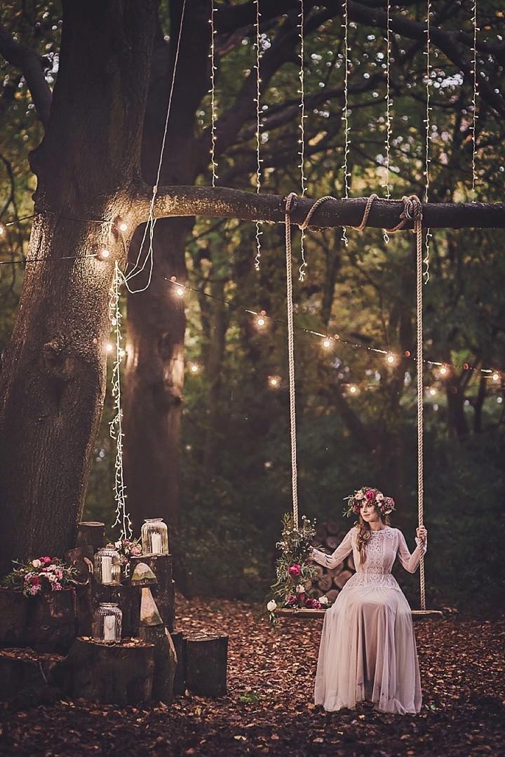 Magical Midsummers Night Dream Wedding Inspiration