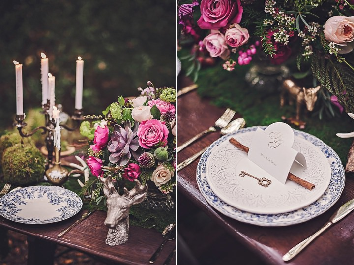 Magical Midsummers Night Dream tablescape Wedding Inspiration