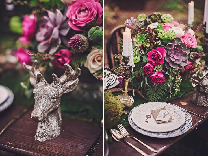 Magical Midsummers Night foliage Dream Wedding Inspiration