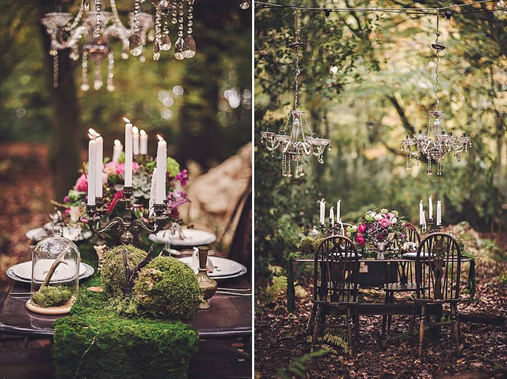 Magical Midsummers Night Dream Wedding Inspiration