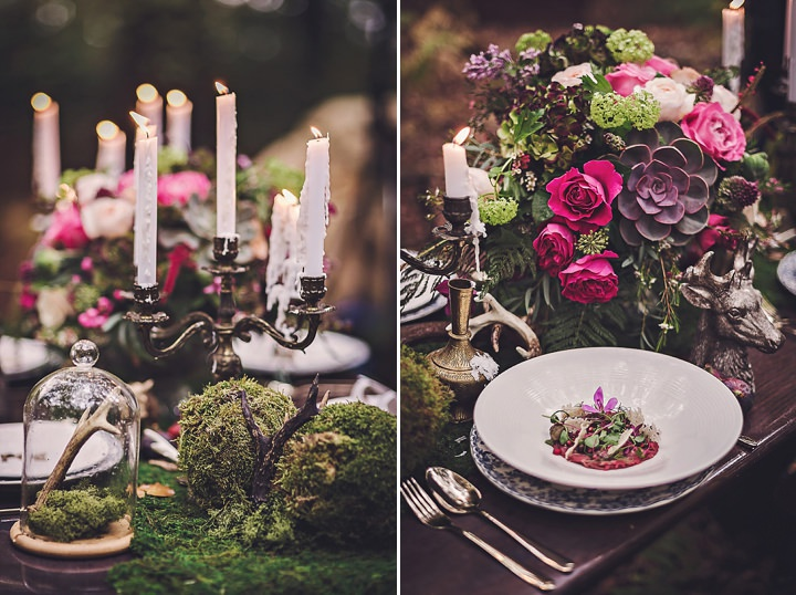 Magical Midsummers flowers Night Dream Wedding Inspiration