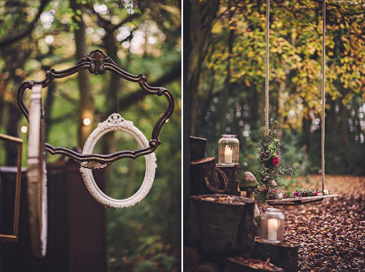 Magical Midsummers Night Dream swing Wedding Inspiration