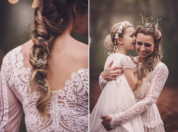 Magical Midsummers Night Dream flower girl Wedding Inspiration