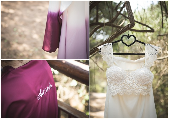 Beach Wedding dress in Mozambique By The Shank Tank