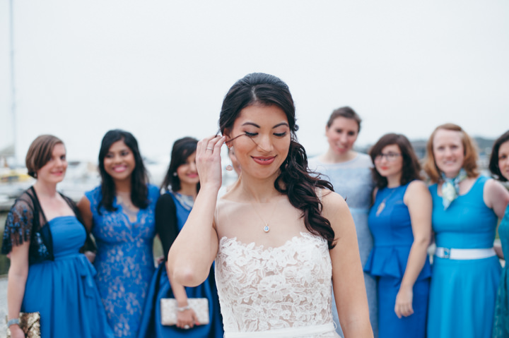 Ruth and Nick's Gorgeous Georgia Wedding with First Look bride and bridesmaids By Parenthesis Photography