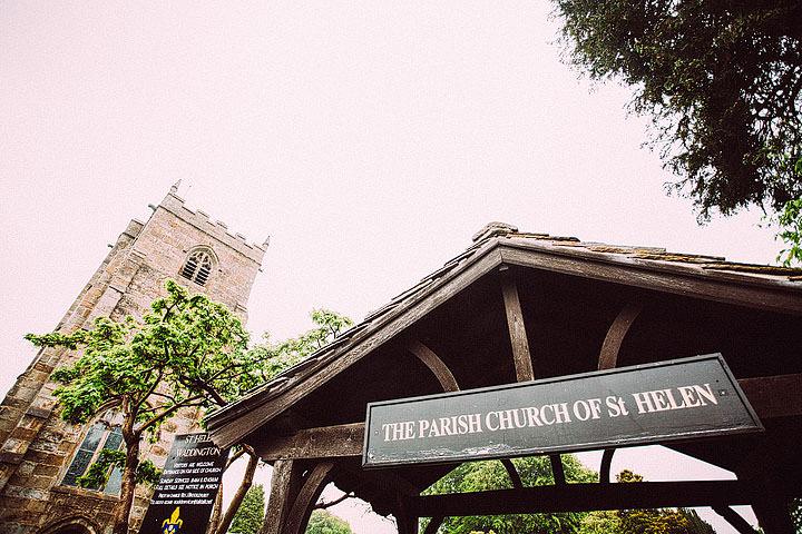 Book Themed Lancashire Wedding church By Lawson Photography