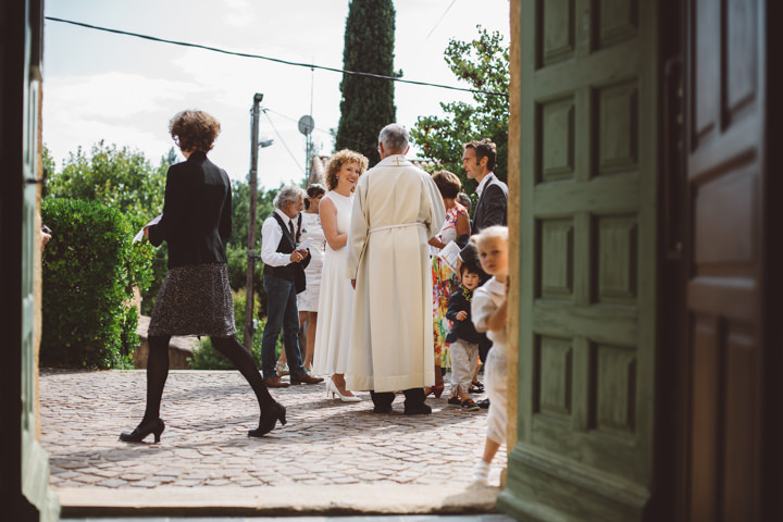 South of France Wedding bride By Time Of Joy Photography