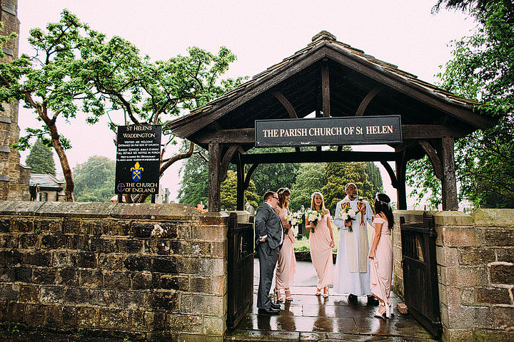 Book Themed Lancashire Wedding bridal party By Lawson Photography
