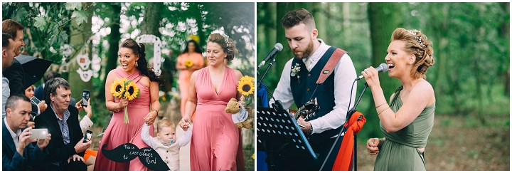Festival Wedding at Stanley Villa Farm in Preston By Mike Plunkett Photography
