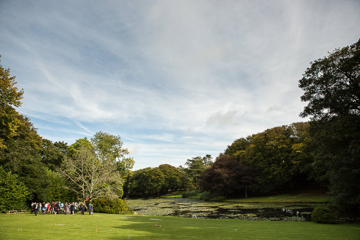 Outdoors In Anglesey Wedding setting By Gill Jones Photography