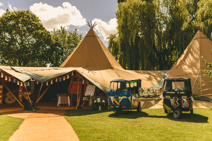 Country Garden Cotswolds Wedding Tipis By Miki Photography
